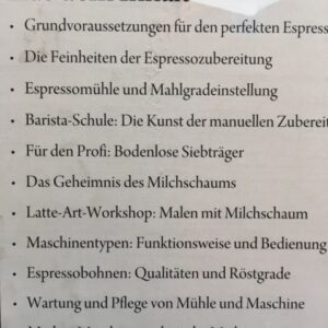 Faszination Espressomaschine Lehrbuch für Siebträger